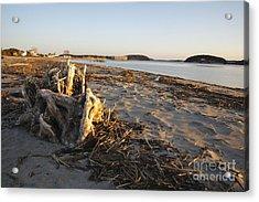 Popham Beach State Park - Phippsburg Maine Usa Acrylic Print by Erin Paul Donovan