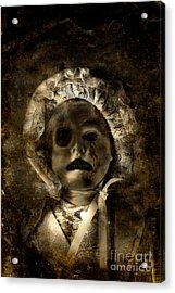 Porcelain Doll Crying Tears Of Cracks Acrylic Print by Jorgo Photography - Wall Art Gallery