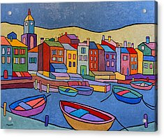 Port In Spain Acrylic Print