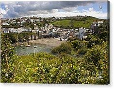 Port Issac Cornwall Acrylic Print