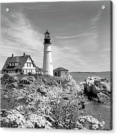 Portland Head Lighthouse Acrylic Print by Mike McGlothlen