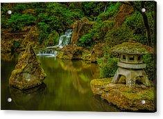 Portland Japanese Gardens Acrylic Print