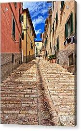 Portoferraio - Isle Of Elba Acrylic Print by Antonio Scarpi