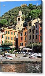Portofino Acrylic Print by Antonio Scarpi