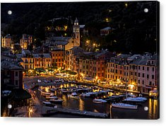 Acrylic Print featuring the photograph Portofino Italy - Hi Res by Carl Amoth