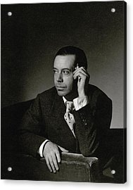 Portrait Of Cole Porter Acrylic Print
