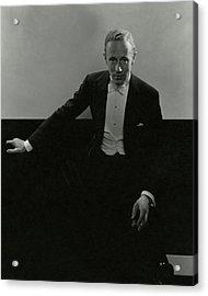 Portrait Of Leslie Howard Acrylic Print