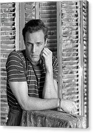 Portrait Of Marlon Brando Acrylic Print