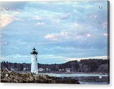 Portsmouth Harbor Light Acrylic Print by Eric Gendron