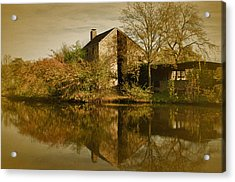 Postcard From Autumn Acrylic Print by Richard Cummings