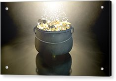 Pot Of Gold Acrylic Print by Allan Swart