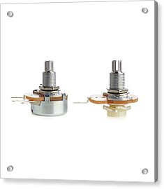 Potentiometers Acrylic Print by Science Photo Library