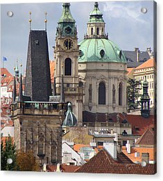 Acrylic Print featuring the photograph Prague by Ira Shander