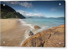 Praia Do Meio Beach In The Afternoon Acrylic Print