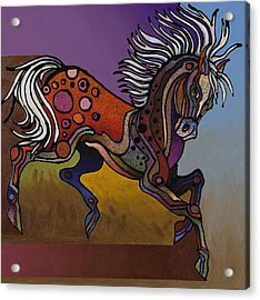 Prancer Acrylic Print
