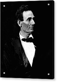 President Abraham Lincoln Acrylic Print by Retro Images Archive
