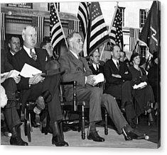 President Franklin Roosevelt Acrylic Print