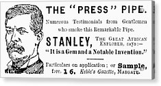 'press' Pipe, 1893 Acrylic Print by Granger
