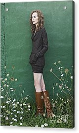 Pretty Girl Acrylic Print