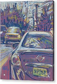Primary Parking Acrylic Print
