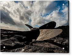 Propeller On The Beach Acrylic Print