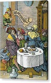 Prostitution, 16th Century Acrylic Print