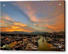 Puerto Vallarta Marina Acrylic Print