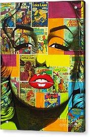 Pulp Marilyn Acrylic Print