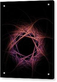 Quantum Entanglement Conceptual Image Acrylic Print by David Parker