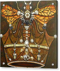 Queen Bee Chronicles Acrylic Print by Marie Howell Gallery