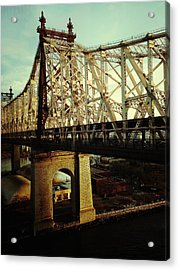 Queensboro Bridge Acrylic Print by Natasha Marco