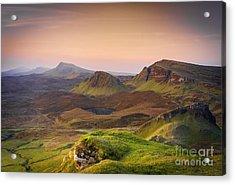 Quiraing Sunrise Acrylic Print