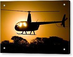 R44 Sunset Acrylic Print