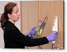 Radiation Emergency Response Training Acrylic Print