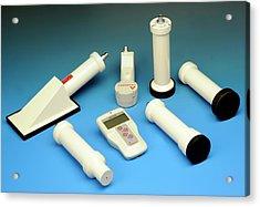 Radiation Survey Meter Acrylic Print