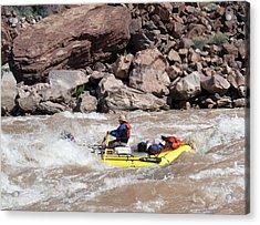 Rafting The Colorado Acrylic Print