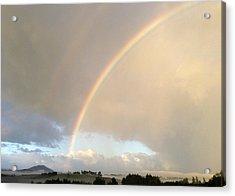 Rainbow  Acrylic Print by Les Cunliffe