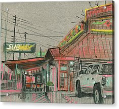 Rancho Grande Acrylic Print by Donald Maier