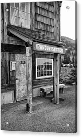 Acrylic Print featuring the photograph Ranger Station Mount Rainier National Park by Bob Noble Photography