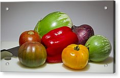 Acrylic Print featuring the photograph Ratatouille  by Ricky L Jones