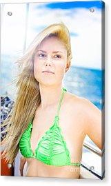 Rays Of Summer Sun Acrylic Print by Jorgo Photography - Wall Art Gallery