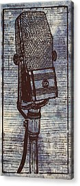 Rca 44 On Music Acrylic Print by William Cauthern
