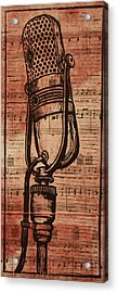 Rca 77 On Music Acrylic Print