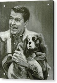 Reagan And Rex Acrylic Print