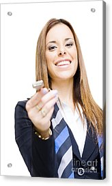 Real Estate Agent Acrylic Print