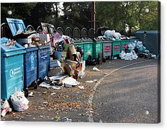 Recycling Site Acrylic Print by David Taylor/science Photo Library