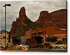 Red Rock Country, Sedona Acrylic Print by Beverly Guilliams