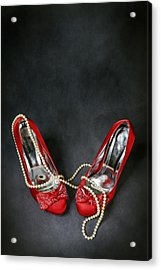 Red Shoes Acrylic Print by Joana Kruse