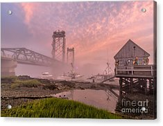 Red Sky At Night Acrylic Print by Scott Thorp