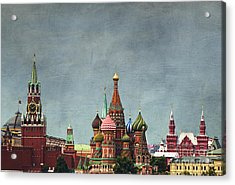 Red Square Moscow Acrylic Print